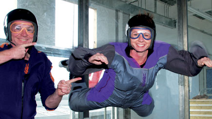 A 120 mph wall of air, this wind tunnel can easily support body weight, giving a true feeling of freefall without the fear of jumping out of a plane!